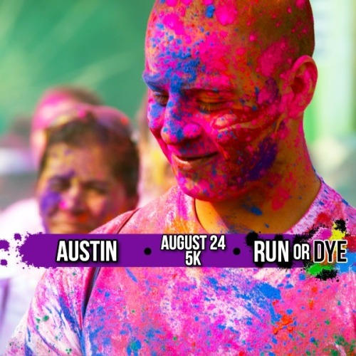 Registered for my 1st 5k on August 24th in Austin!!   I am so excited its colorific!!!