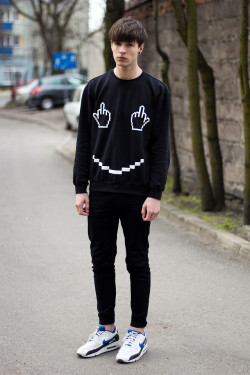 lookbookdotnu:  Fuck and smile! (by Paweł  Lewandowski)