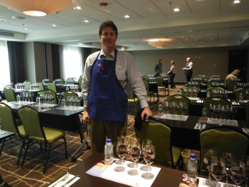 Evan Guthrie Law Firm Volunteers For Charleston Food And Wine Festival In Charleston, SC On Friday March 1st 2013. Lawyer Helping At Event Raising Money for Local Schools, The College of Charleston Department of Hospitality and Tourism Management, The Culinary Institute of Charleston, and The International Culinary School At The Art Institute of Charleston.