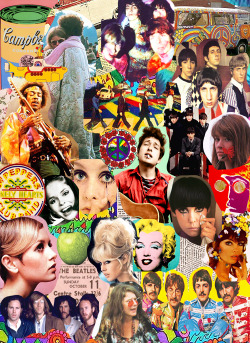 breakfastwithsataan:  the 60's in one collage