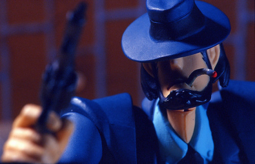 Day 059/365 - Jigen Daisuke on Flickr. These things are awesome - loads of articulation and accessories. Really nice bits of work - sadly no Goemon, Fujiko or Zenigata yet …