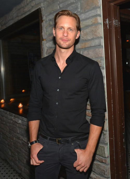 Alexander Skarsgård || 'The East' NYC premiere after party at Hotel Chantelle on May 20, 2013