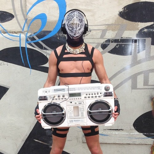 Dj RAD channeling @slickitup & #DaftPunk #Photoshoot #preview