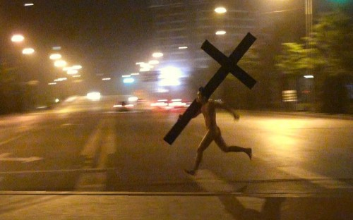 loafyn:  run jesus run