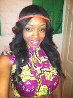 Repped Nigeria for International Night at school