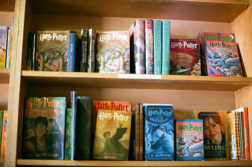 cuckoocl0ck:  harry potter by kyra c. on Flickr.