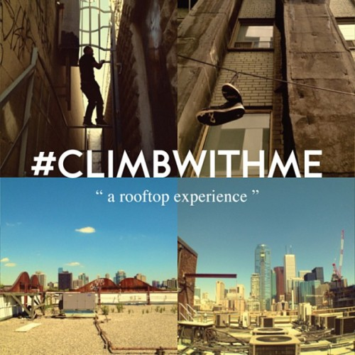 Peep this cool series from the homie! #climbwithme - This initiative will portray Toronto from a perspective not seen by many. This rooftop series will contain many adventures and discoveries. When a group of adventurous photographers come together, the results are unbelievable. Follow their journey.  @believedreamsdl - Josh T. @alexanderadams - Alex A.