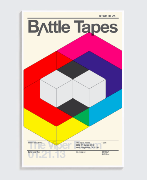 Battle Tapes will perform at The Viper Room in Los Angeles, CA. Monday, January 21, 2013. $8 RSVP (Contact us)$10 Door