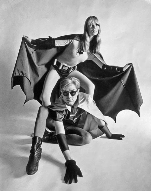 kvetchlandia:  Uncredited Photographer     Nico and Andy Warhol     1967 Ka-Pow!