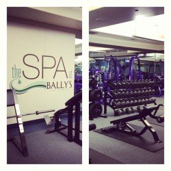 Gym, Spa, Check. #vegas  (på Bally's Las Vegas Hotel & Casino)