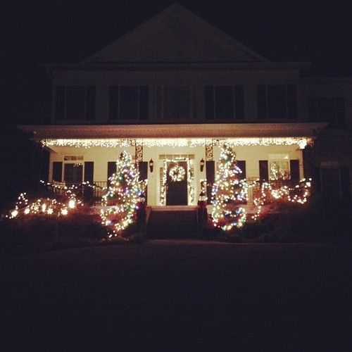 Finally finished the Christmas lights.