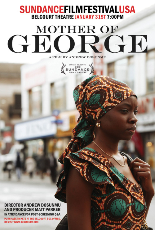 heatherbyrd:  A new film from director Andrew Dosunmu is coming to the Belcourt Theater in Nashville straight from the Sundance Film Festival on January 31. Best of all, the director will be in attendance to answer questions after the screening. You may know Dosunmu from his efforts on Beasts of the Southern Wild or you may know him as the creative director for album artwork for Erykah Badu and Public Enemy or perhaps from his stint as a design assistant at YSL. This is a very unique opportunity and I encourage you to get your tickets in advance.
