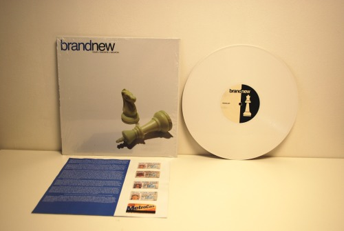 recordstoredaze:  Brand New - Your Favorite Weapon (2001) | 1st Press | White/100