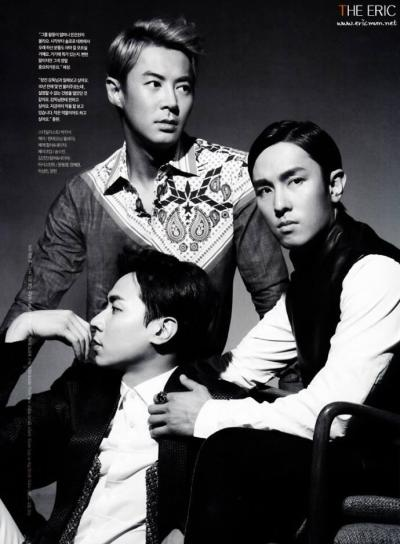 Dongwan, Junjin, and Andy for GQ Magazine June '13 Issue© ericmun.net (Do not edit/transform)