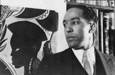 Langston Hughes, always a Vintage Black Glamour favorite, was born 111 years ago today in Joplin, Missouri. This 1932 photograph was taken by his good friend, Carl Van Vechten and was eventually given as a gift by another friend, the illustrator Prentiss Taylor, to the National Portrait Gallery, Smithsonian Institution.