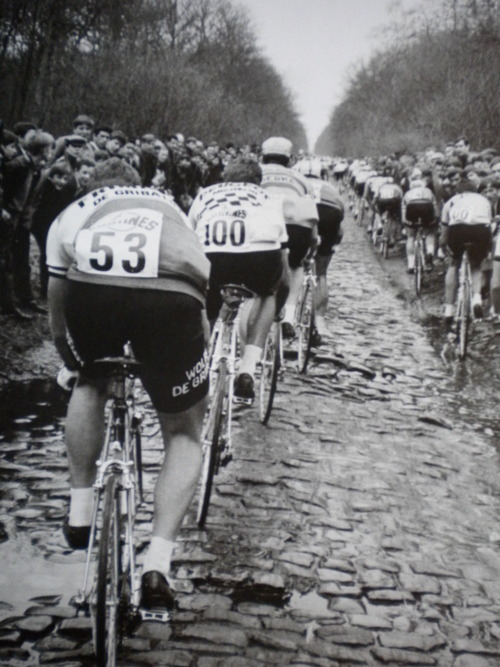 velominati:  Favorite Roubaix pic ever. Posted before, but never hurts to blast it up again and again.