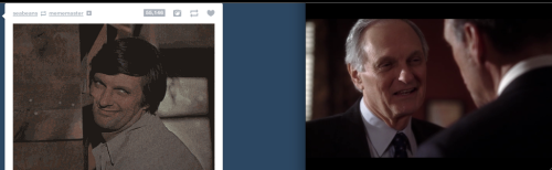 things that happen when you're watching The West Wing and scrolling on tumblr.