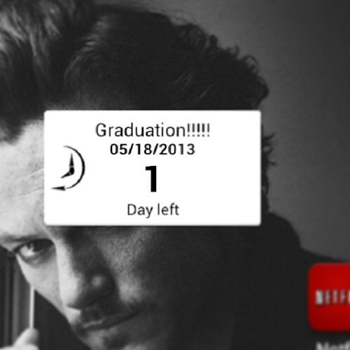 Tomorrow is Graduation #OneDayMore I'm sooooo pumped…who is coming!!!