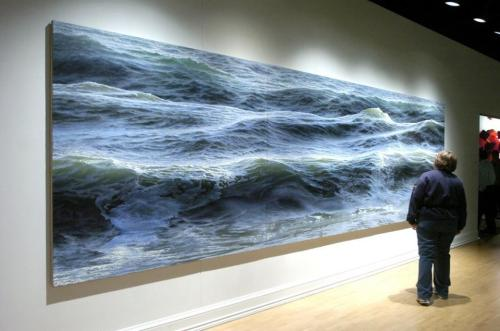 Canvas Oil Paintings by Ran Ortner