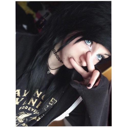 Emo teen girl selfie tumblr