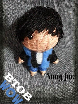 theknottyloft:  BTOB - Wow - Sung JaeMini String Doll