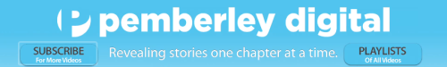 can we just talk about the slogan of pemberley digital? I super love it.