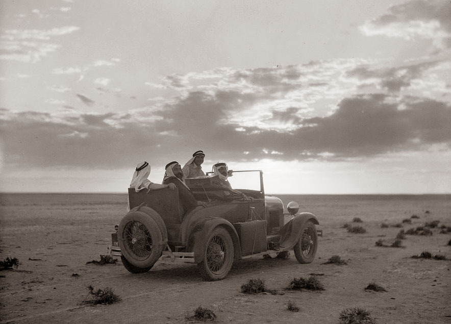 firsttimeuser:  Car in the Desert, 1926..