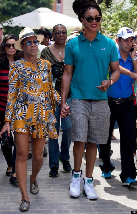 Bey and Jay-Z out on the town.