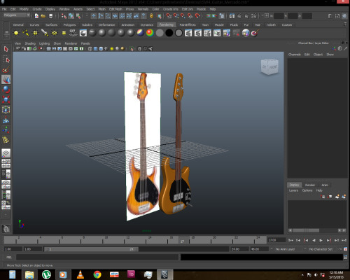 Hello 3D world. Sterling Ray 35 Musicman