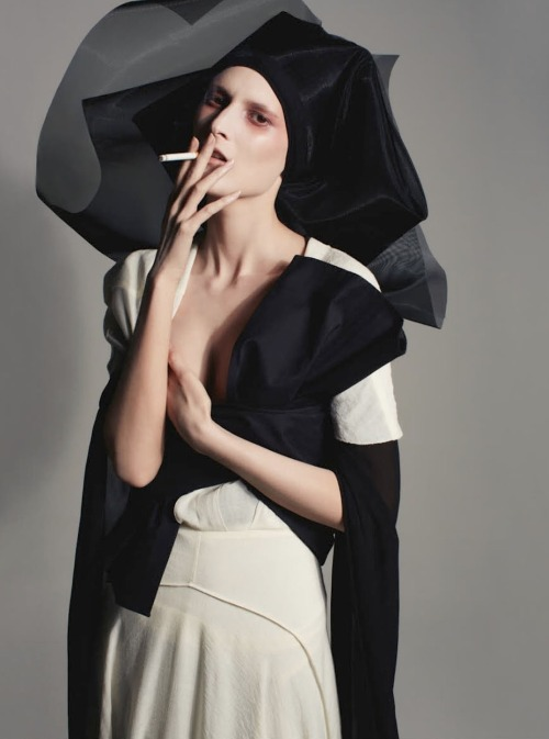 dustulator:  Marie Piovesan in Parade shot by Anthony Maule for Numero no.142, 2013