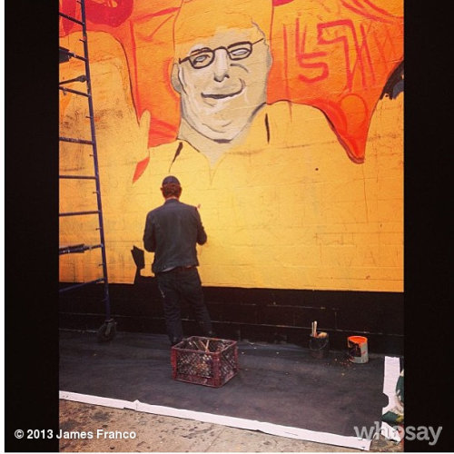 Painting sethView more James Franco on WhoSay