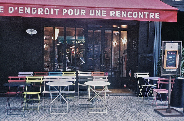 | ♕ |  Cafe Bar Drôle d'Endroit, Paris  | by © Irina Tataurova