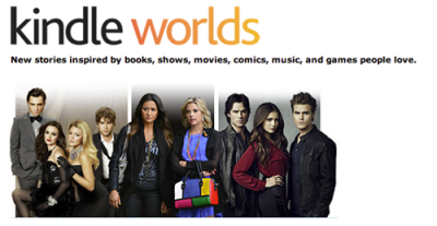 thedailywhat:  Fandom News of the Day: Amazon Unveils a Fanfic Publishing Platform Beginning in June, fanfiction authors will be able to self-publish their works from selected partner franchises via Kindle Worlds. Gossip Girl, The Vampire Diaries and Pretty Little Liars are already on board with the project and more are expected to be announced the official launch. However, authors aren't exactly jumping at the chance to turn their works into cash: by using the platform, authors give all rights to the work to Amazon, who can then license your elements to other authors with no compensation to the original poster. The platform also will not publish stories containing pornography, excessive use of brand names or crossovers, so your Superwholock mpreg (male pregnancy) stories will just have to stay on Tumblr.