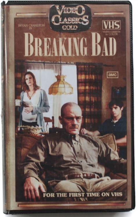 Cine y series modernas en formato VHS