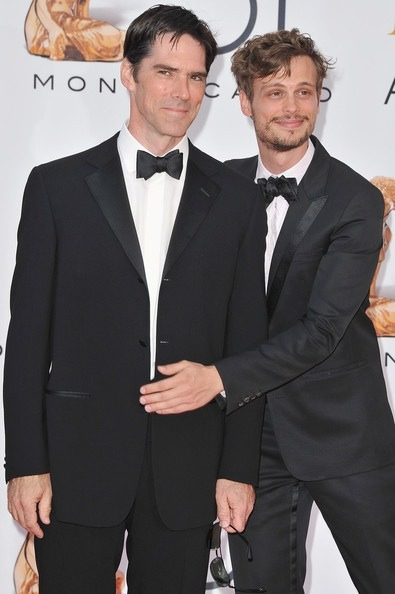 Thomas Gibson (L) and Matthew Gray Gubler (R) arrive to attend the closing ceremony of the 51st Monte Carlo TV Festival at the Grimaldi forum on June 10, 2011 in Monaco, Monaco.  soooo adorable