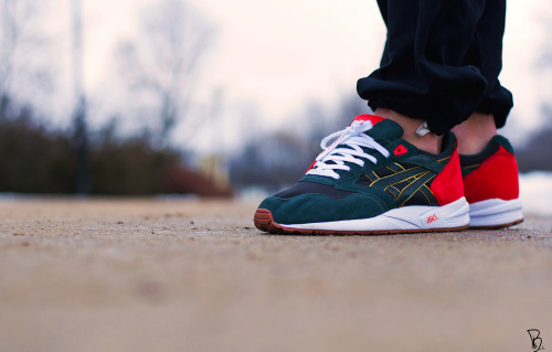 sweetsoles:  24 Kilates x Asics Gel Saga (by KamilBaks)
