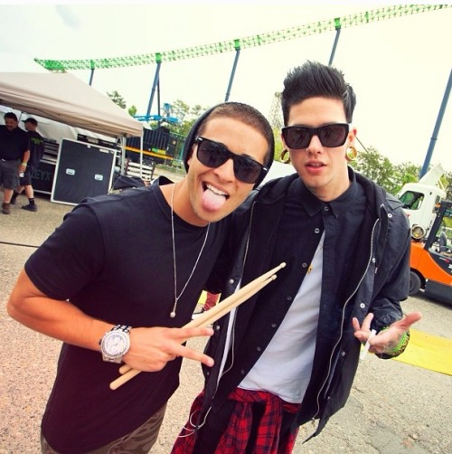 travistatummillstmills:  Jake miller and Travis
