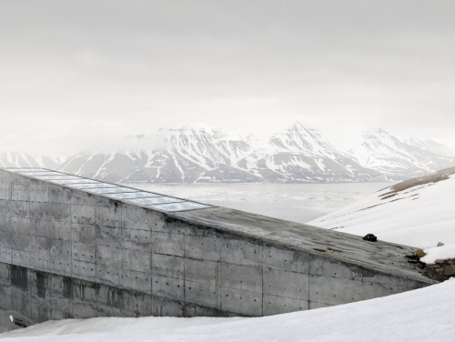 architectureofdoom:  Svalbard Global Seed Vault, Norway View this on the map