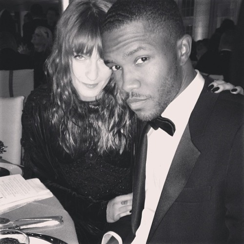 escapedgoat:  puis-je-vivre:   MET Gala 2013 Florence Welch & Frank Ocean Givenchy Haute Couture (Florence Welch), Lanvin (Frank Ocean)   THINKIN BOUT THE DOG DAYS ARE OVER YOU GOT THE PYRAMIDS FJODSFDSOGJFOGIDFJI