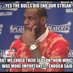 Which was more important ?..ok thts what I thought #heatnation #teamlebron #teammiamiheat #unclelebron #RNS #RepeatChamps