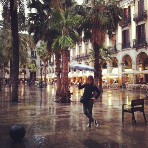 Plaça Reial in Barcelona. Restaurants on the ground floor, apartments above. Photograph by (and I believe of) @bcrobyn. I particularly love this photo as a counter to two fallacies I hear around Metro Vancouver: that the City of Vancouver can't have nice architecture because it rains; and that the rest of Metro Vancouver can't have nice places, because it's not blessed with City of Vancouver's beaches and views. No matter where your city is, and whatever its weather, consider trees on a square surrounded by attractive arcaded mid-rise mixed-use. Check that your zoning and street design regulations don't make this illegal. Developers: go for it.
