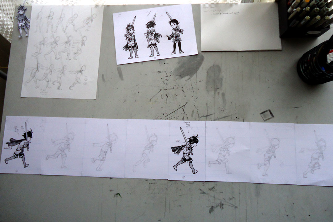 BEHIND THE SCENES: A look into the process of hand drawing entire dream worlds for the 2D platformer puzzle adventure game The Adventures of Dash! The Adventures of Dash from Robotoki