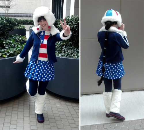 Adorabeezle Winterpop costume at Momocon 2013!