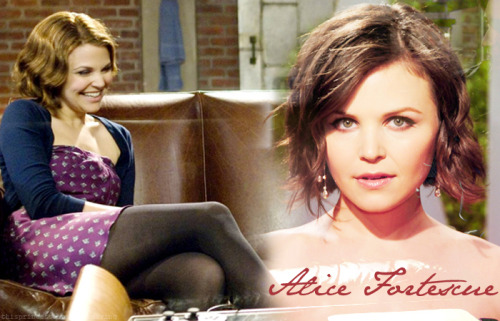 Alice Fortescue | Pureblood | 7th Year | Gryffindor | FC: Ginnifer Goodwin  - Open   Alice Fortescue, the motherly figure of her three best friends, she's got a heart of gold and the most beautiful personality you will ever find. But her heart belongs to that of Frank Longbottom, her long-term boyfriend who has just left Hogwarts to become an Auror. She finds herself feeling slightly isolated, even when she's with Lily, Marlene and Mary. She doesn't let this get her down though, she's always up for a fun time and loves Herbology and Care for Magical Creatures. Some even say she has a special connection with nature, for no one has met someone quite as caring and gentle as her. Alice always finds herself to be the one her friends come to in times of need, and always offer them her shoulder to cry on.   MAIN BLOG | CHARACTERS | REQUEST FCs | AUDITIONop