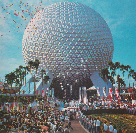epcotexplorer:  EPCOT Center Opening Ceremony, October 1, 1982