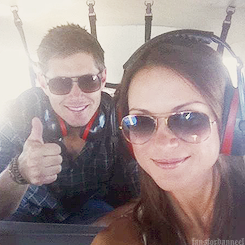 Jensen and Danneel + Sunglasses