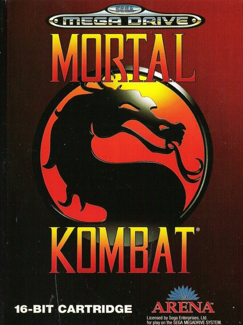 game-cover:  MORTAL KOMBAT Year : 1992 Platforms : Genesis, SNES, Gamboy, Game Gear, DOS  FINISH HIM! lol who never played this game. For me, I liked it more than Street Fighter. The characters were real human inside the game XD. At that time that was the best graphics.