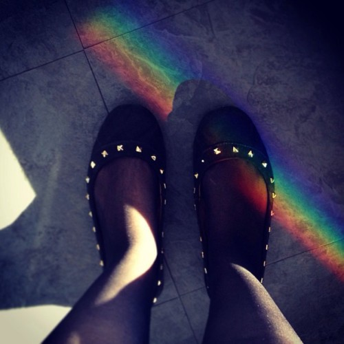 🌈 #rainbow  #shoes  (em Sydney Tower Eye)