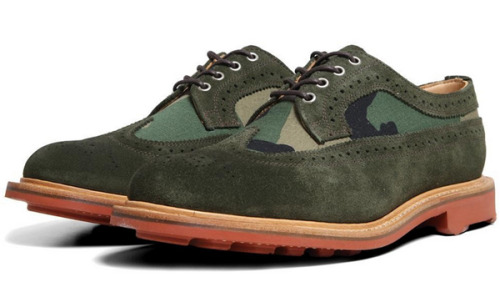 free-man:  Mark McNairy Suede & Camo Long Wing Brogue   I'm normally not a camp guy, but I would definitely wear these.
