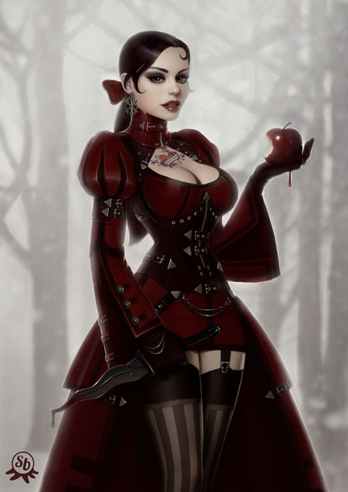 hidekee:  Snow White by ~PapaNinja
